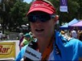 Leanda Cave After The 2012 Wildflower Triathlon