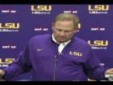LSU Coach Les Miles On The Dismissal Of The Honey Badger