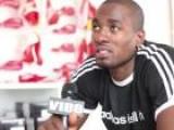 London Calling: Serge Ibaka At The Adidas London Lounge