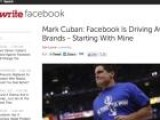 Mark Cuban Fed Up With Facebook Brands, Willing To Move Mavericks' Page To Myspace