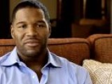 NY Giants&#39 Michael Strahan On Opportunities In His Life