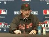 NLDS Giants Reds Game 4 Post Game Press Conference