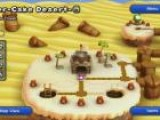 New Super Mario Bros. U World 2-Tower Stoneslide Tower Multiplayer - Gameplay
