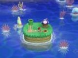 New Super Mario Bros. U Secret Island Mushroom House - Gameplay