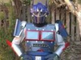 Optimus Prime Costume For Halloween