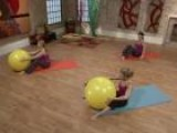 Pilates With A Stability Ball