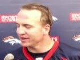 Peyton Manning Talks About First Workout With Broncos