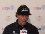 Phil Mickelson Looking To Wipe Away Terrible First Round At The U.S. Open