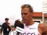 Rasmus Henning After The 2011 Oceanside 70.3