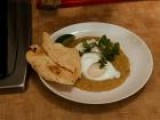 Slow Food Fast: Dal With Poached Eggs, Cilantro And Yogurt