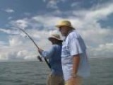 Sight Casting Tarpon In Mosquito Lagoon