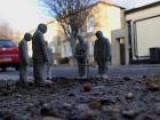 Spanish Artist Creates Cement Human Sculptures