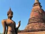 The Ruins Of Sukhothai In Thailand