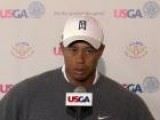 Tiger Woods Very Pleased With His Opening Round At The U.S. Open