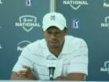 Tiger Woods Talks About Lebron James At AT&T Nationals