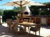 Tuscan-Style Outdoor Kitchen Design