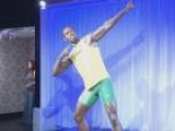 Usain Bolt Waxwork Unveiled At Madame Tussauds