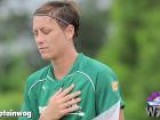 U.S. Soccer Star Abby Wambach Gets Punched In The Face