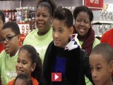 Willow Smith & Boys & Girls Club Go Shopping