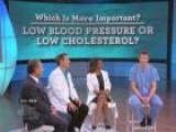 What Would You Choose: Blood Pressure Vs. Cholesterol