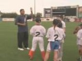 Youth Players Spend A Day With Derek Jeter