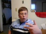 10-Year-Old Boy Raps