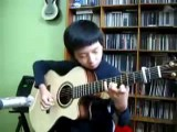 13yr Old Playing Michael Jackson On Guitar