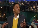 **Continued ** David Letterman Talks To Will Smith About