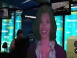 Ava� The Holographic Avatar Greets NY Airport Passengers