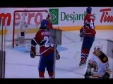Andrew Ference Flips Middle Finger To Montreal Crowd