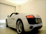 Audi R8 V10 Spyder Revving Inside And Outside Bonus Roof Opening