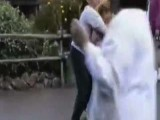 Brother And Sister Fighting At Disneyland
