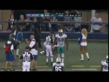 Dallas Cowboy Tackles Cheerleader