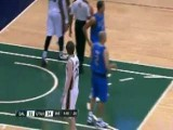 Delonte West Gives Gordon Hayward Ear Poke During Game