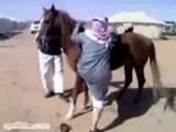 Fat Arab On Horse