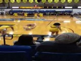 Fat Cheerleader Fights Gravity