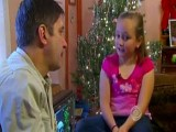 Girl Tells Santa Her Dad She Wants Her Dad Home For X-Mas