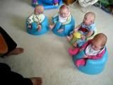Guitar Solo For Cute Quadruplets