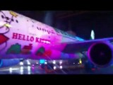 Gigantic Hello Kitty Airplane