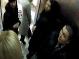 Girls Strip In This Elevator Prank