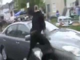 Girl Hit By Car Dancing In The Street