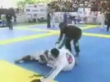 Guy Does The Walls Of Jericho In Brazilian Jiu Jitsu Tournament