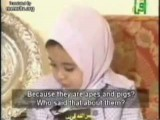 Islamic Woman Brainwashes 3-Year-Old Girl