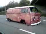 Lowrider VW Bus