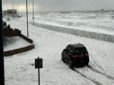 Mystery Foam Engulfs Seaside Town In Northwest England