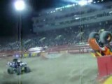 Monster Truck Double Back Flip!!