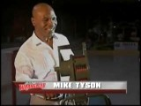 Mike Tyson Sounds Siren Before LA Wranglers Hockey Game