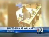 Naked Man Steals Socks At Wal-Mart