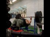 Scary Hairy Dwarf Benches 485 Pounds