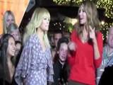 TV Host Maria Menounos Splashes Around Miami In Bikini